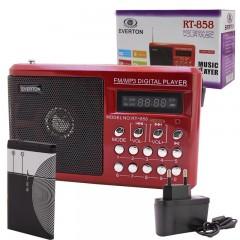 Everton RT-858 USB-SD-FM-SW Radyo Müzik Kutusu