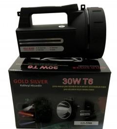 Gold Silver GS-5500 30 WT Şarjlı Projektör