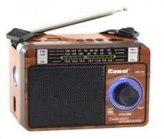 Kamal Km-116 Şarjlı Mp3 Çalar Radyo