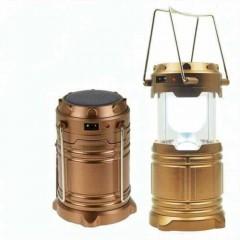 Kamp Feneri Güneş Enerjili Şarjlı Led Lamba