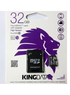 Kıngdata 32 Gb Micro Sd Hafıza Kartı