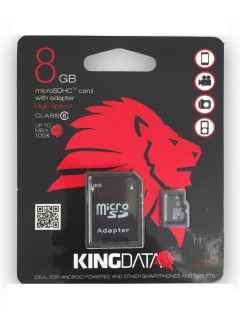 Kıngdata 8 Gb Micro Sd Hafıza Kartı
