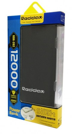 Reddax 12000 MAh Slim Kasa Powerbank