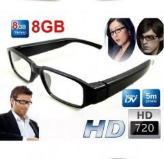 Hd Bakıcı Güvenlik Gözlük Kamera 8 Gb Hafıza Kart Hediyeli