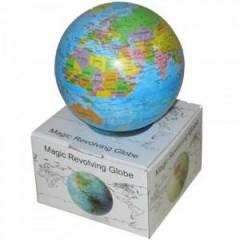 Işıklı Dönen Dünya Haritası Küre