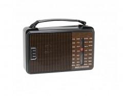 Kmgold Km-608ACW Pilli 4 Bant Ahşap Desenli Radyo