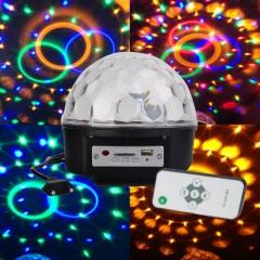 LED Disko Topu SD Kart ve USB Girişli Disko Işıklı Hoparlör
