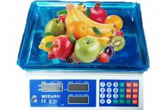 Mizano 40 kg Elektronik Manav Terazisi