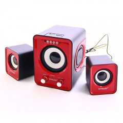 MultiAudio 2+1 Usb+SD+Fm Destekli Multimedia Speaker