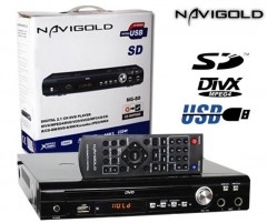 Navigold NG-80 USB-SD-FM Karaoke DVD Player