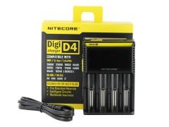 Nitecore D4 Digi Charger LCD Li-ion Şarj Cihazı