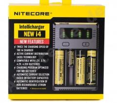 Nitecore New i4 intelli charger Li-ion Şarj Cihazı