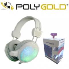 Polygold Işıklı Oyuncu Kulaklığı PG-6967