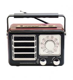 Pu Xing Taşınabilir Mini Retro Radyo