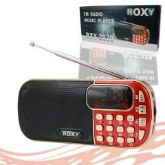 Roxy FM-SD-USB Pilli Şarjlı Radyo