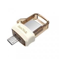 Sandisk Dual Drive M3.0 32GB Gold Usb Bellek