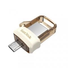 Sandisk Dual Drive M3.0 64GB Gold Usb Bellek