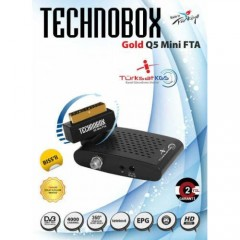 Technobox Gold Q5 Mini FTA Uydu 4A Türksat KGS