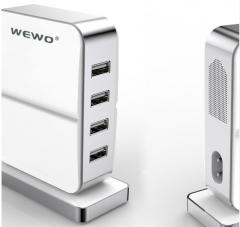 Wewo 4 Port 5V Iphone Samsung Ipad Hızlı Şarj Aleti