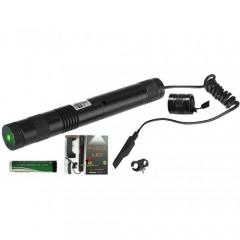 Yeşil Şarjlı Lazer Pointer 200mw Yakıcı Kumandalı