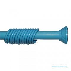 Banyo Askılığı Duş Perde Borusu 123-200 Cm Mavi-0