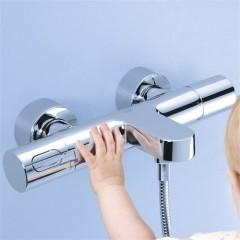 Grohe Grohtherm 3000 Cosmopolitan Termostatik Banyo Bataryası-4