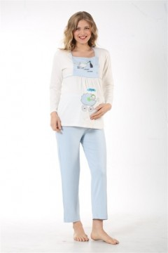 Lohusa Pijama Takım(Micro Kumaş)