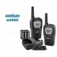 Aselsan MT 690 Pmr El Telsizi Pil ve Şarj Dahil  2'li Set
