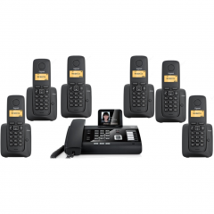 Gigaset DL500A & A120 Kablosuz Telesekreterli Telefon Santrali