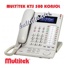 Multitek KTS 500 Tuşlu Telefon Santral Konsolu