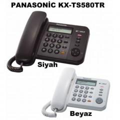 Panasonic KX-TS580 Kablolu Tuşlu  Ekranlı Masa Telefonu